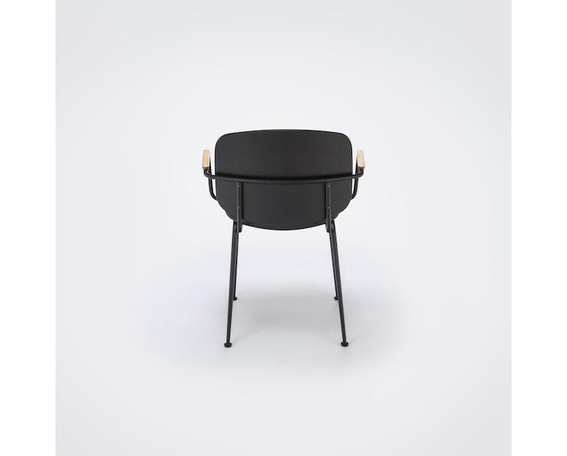 Houe - Grapp Dining Stuhl mit Armlehne - Lederpolster schwarz - 4