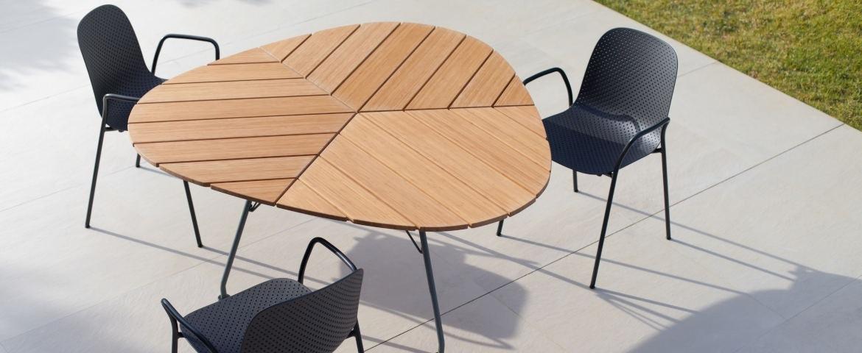 Houe Leaf Tisch/13eighty Stuhl