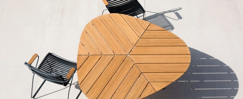 Houe Leaf Tisch/Click Dining Stuhl