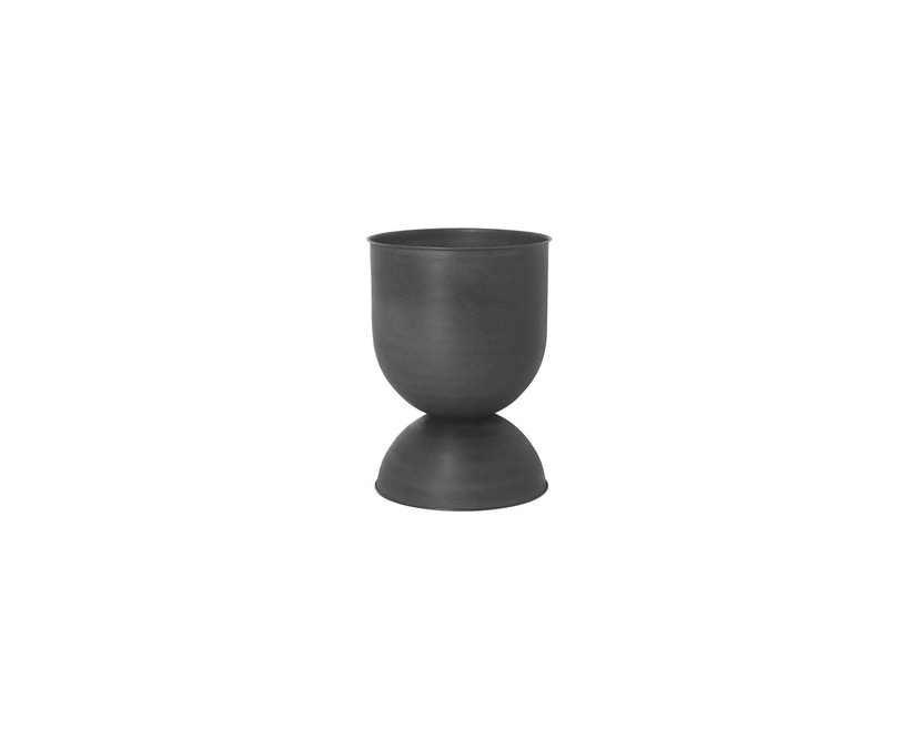 ferm LIVING - Hourglass Blumentopf - schwarz - 1
