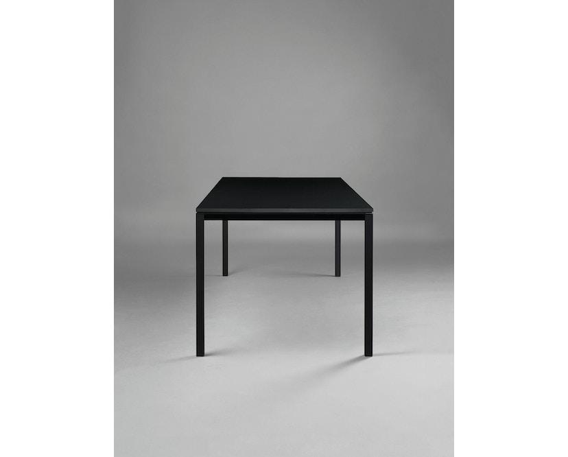 Janua - Table S 600 HPL - 80 cm - 80 cm - noir époxy - noir - 2