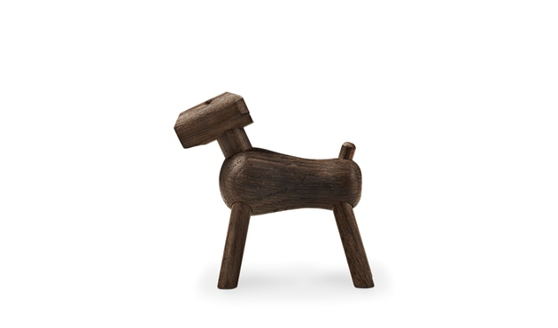 Kay Bojesen - Hund Tim - dunkles Holz - 2