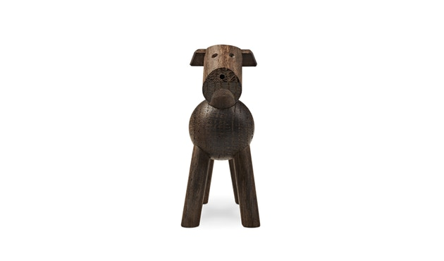Kay Bojesen - Hund Tim - dunkles Holz - 3