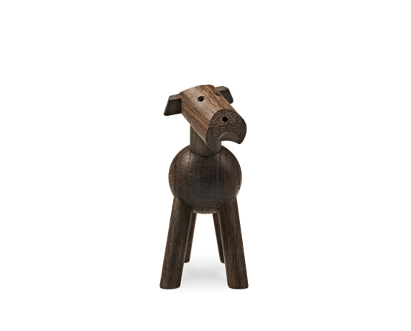 Kay Bojesen - Hund Tim - dunkles Holz - 4