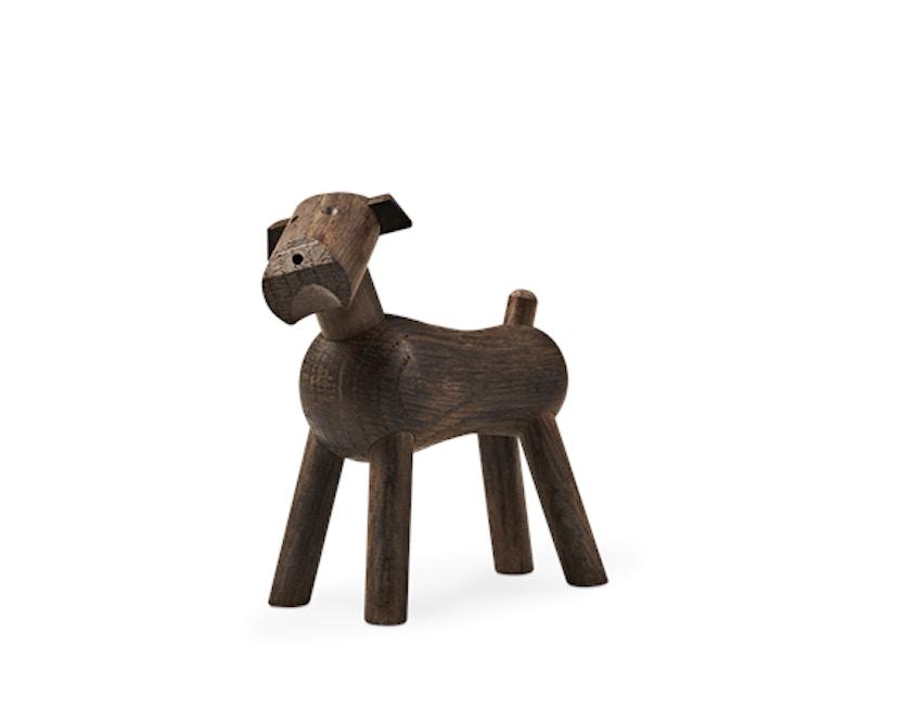 Kay Bojesen - Hund Tim - dunkles Holz - 1