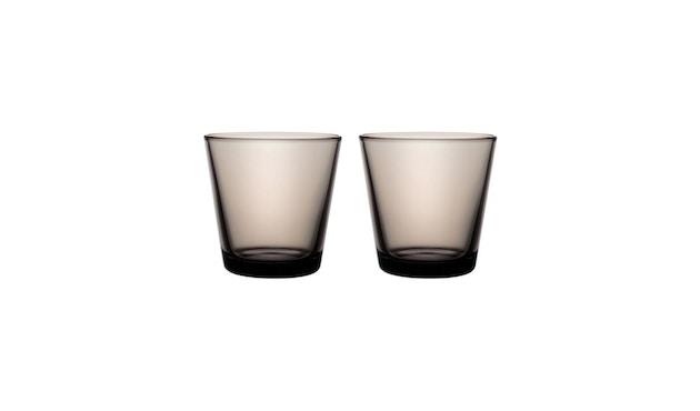 Iittala - Kartio 2er Set Glas, 0,2l - sand - 2
