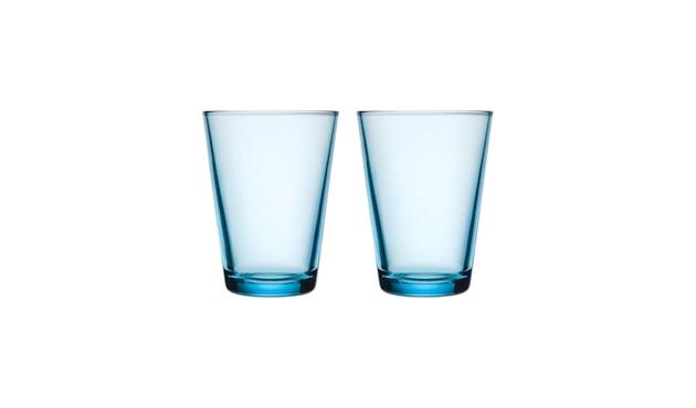 Iittala - Kartio 2er Set Glas, 0,4l - hellblau - 1