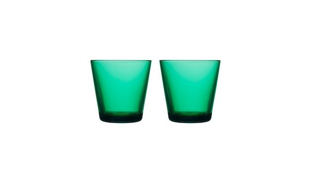 Iittala - Kartio 2er Set Glas, 0,2l - emerald - 2