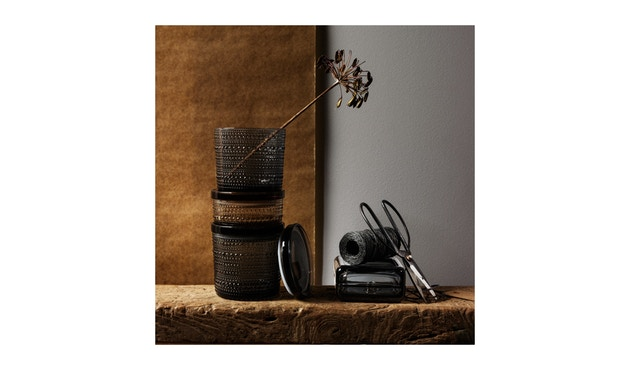 Iittala - Kastehelmi Dosen, 11,6x11,4cm - moosgrün - 4