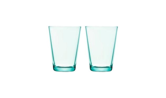 Iittala - Kartio 2er Set Glas, 0,4l - wassergrün - 1