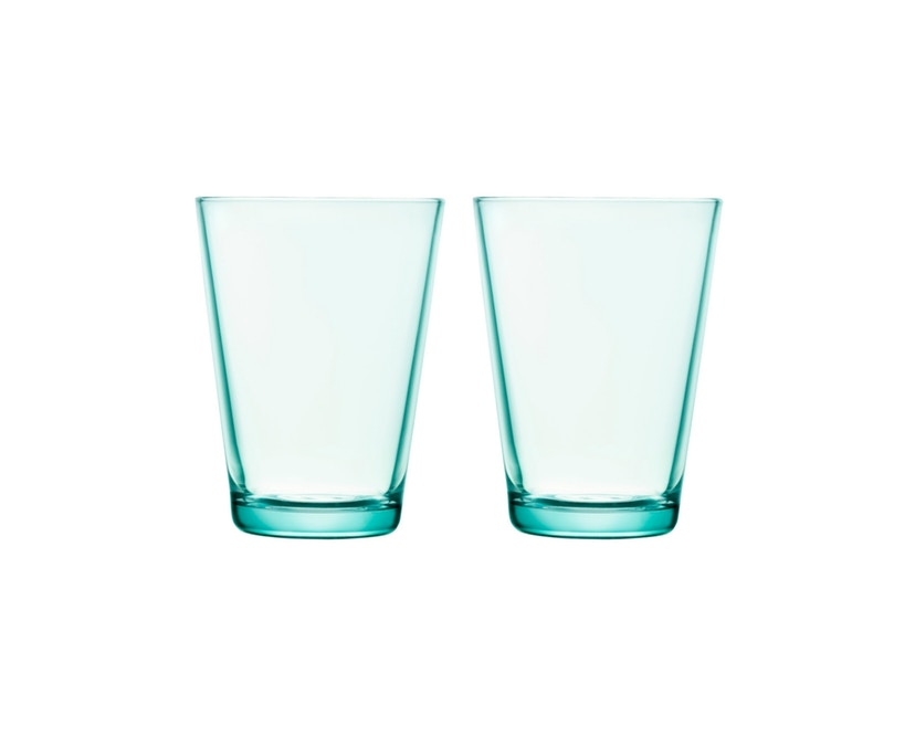 Iittala - Kartio Glas - watergroen - 1
