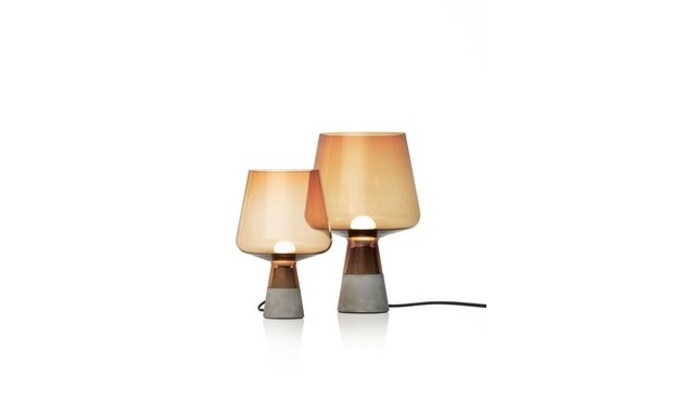 Iittala - Leimu Lampe, 30x20cm - grau - 2