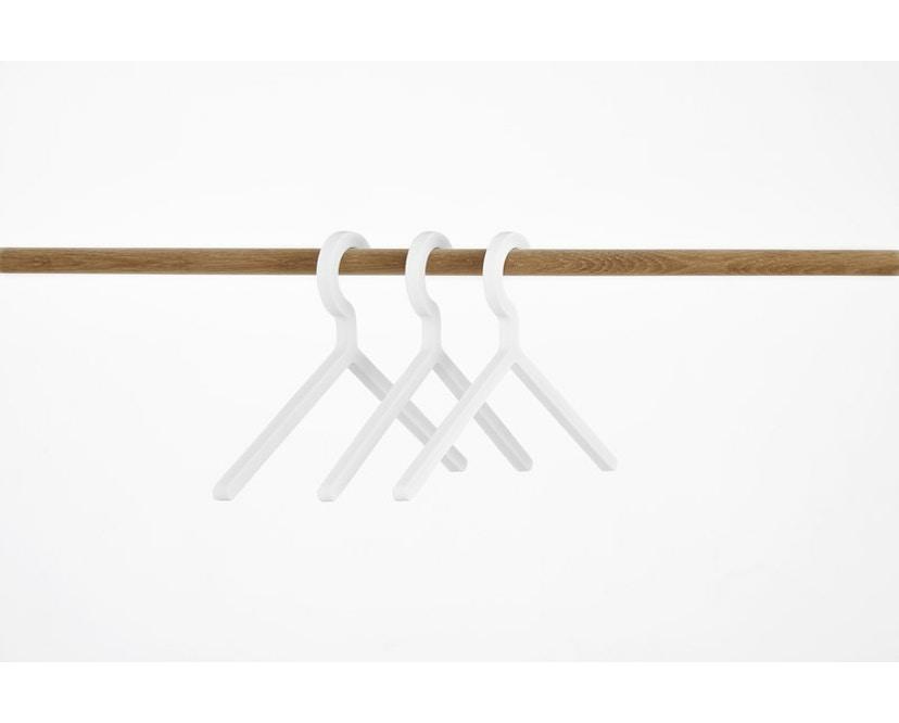 Woud - Illusion Kleiderbügel - White - 2