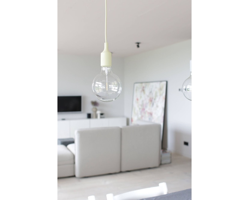 Muuto - Suspension E 27 LED - brun argile - 11