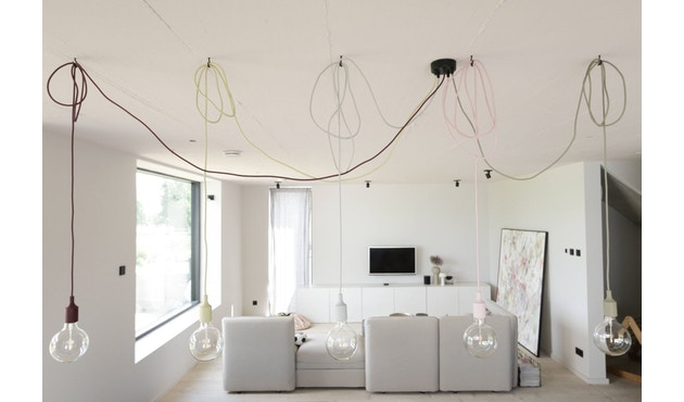 Muuto - Suspension E 27 LED - brun argile - 12