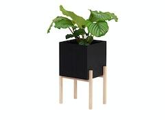 Botanic Pedestal Pot Pflanztopf - anthrazit