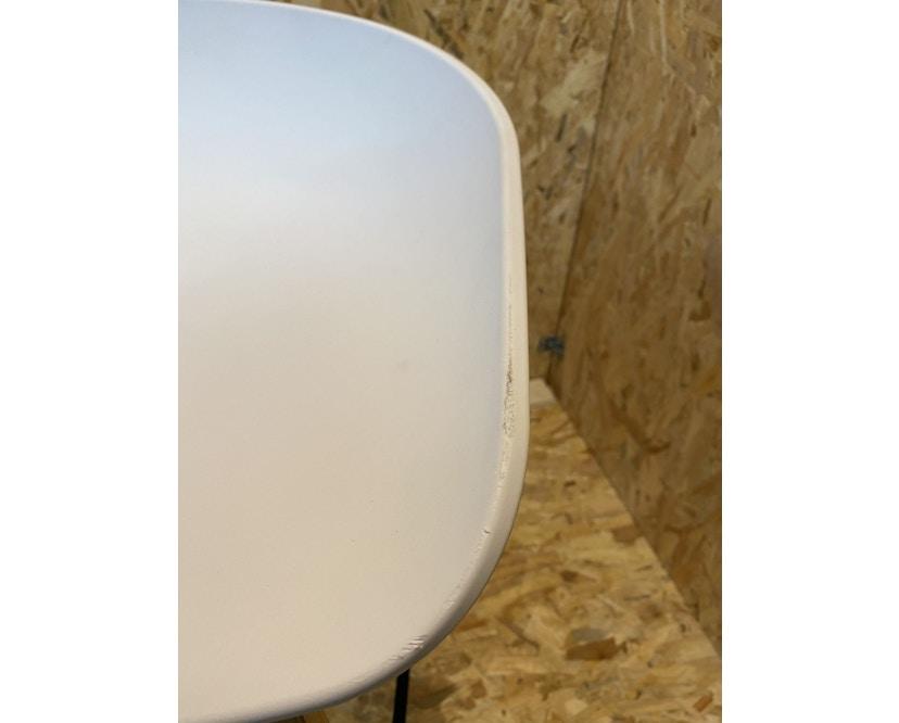 HAY - About A Stool AAS 32 - groß 85 cm - weiß - Eiche geseift - Fußbank schwarz