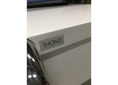Thonet - B 108 consoletafel - getopcoat wit - 1
