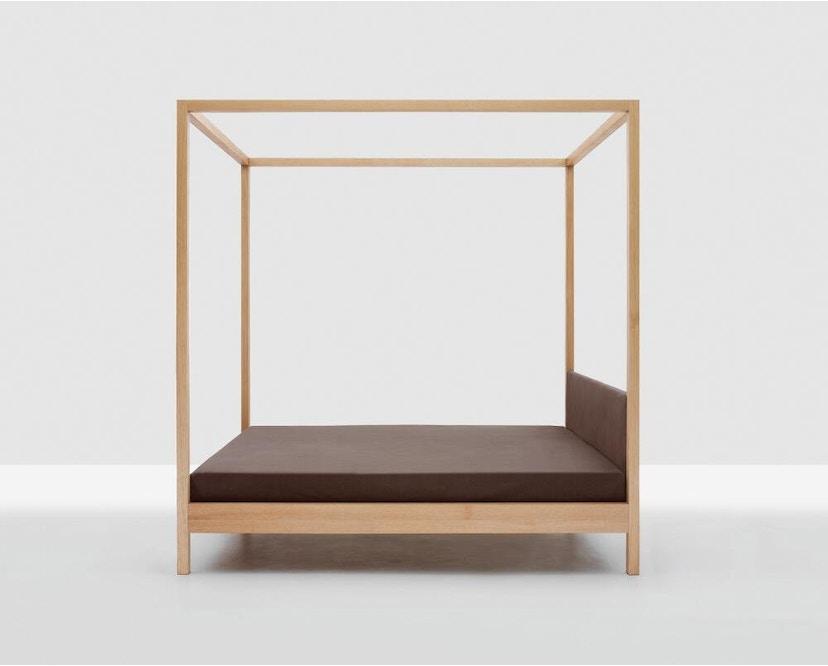 Zeitraum - In Heaven Himmelbett - Eiche - 140 x 200 cm - Bezug: Canvas grau - 3
