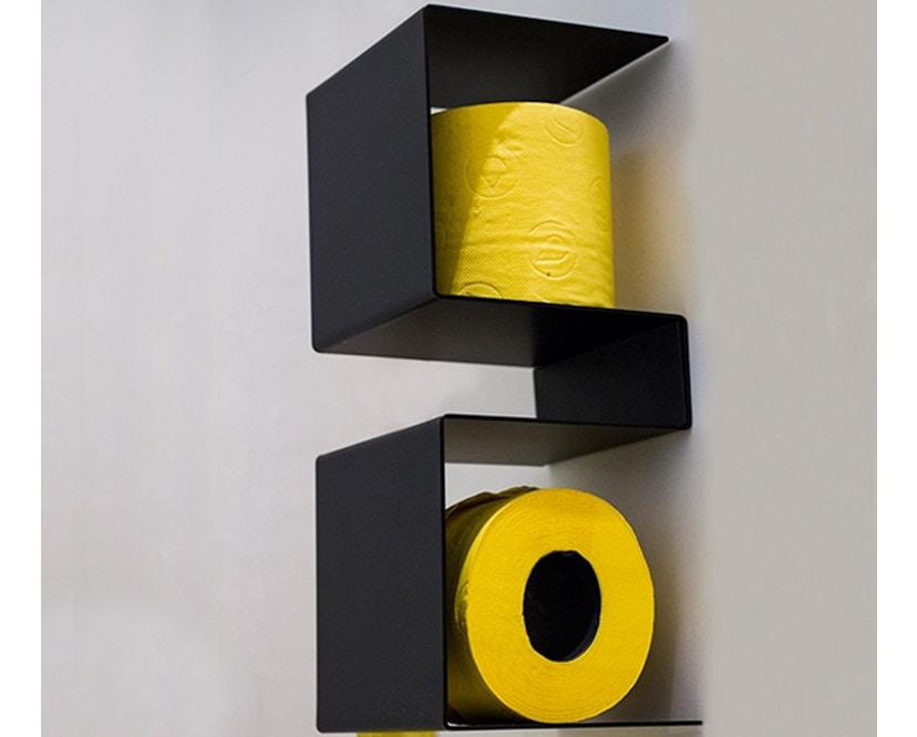 ex.t - In Team Halter für Toilettenpapier - schwarz - 1