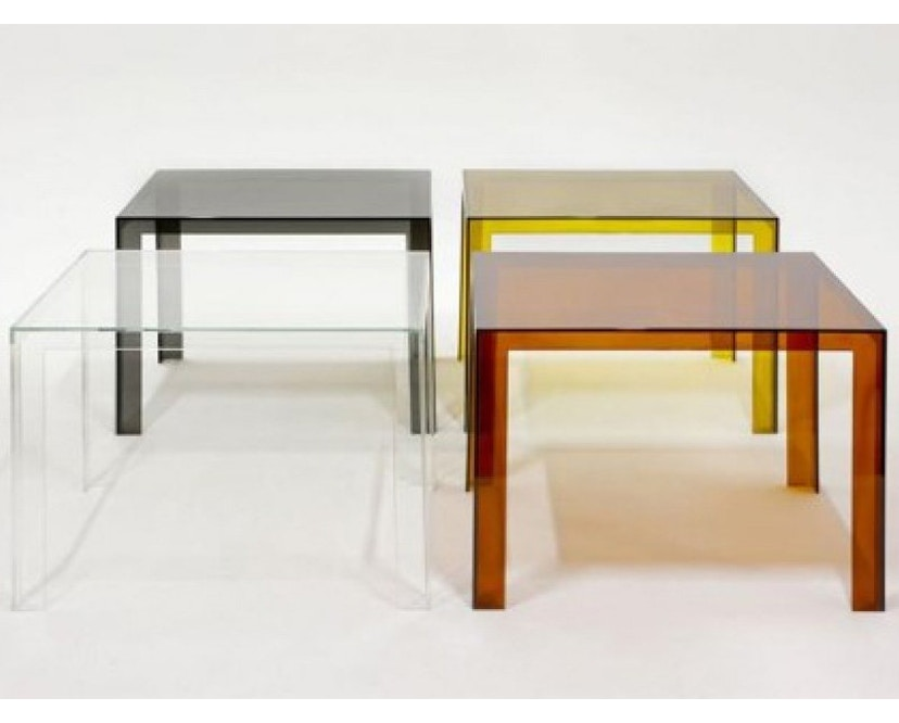 Kartell - Invisible Table - Couchtisch - glasklar - 3