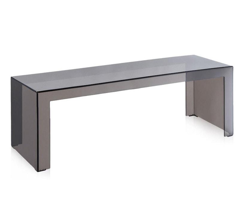 Kartell - Invisible Side - bijzettafel  - rookgrijs - Hoogte 40 cm - 1