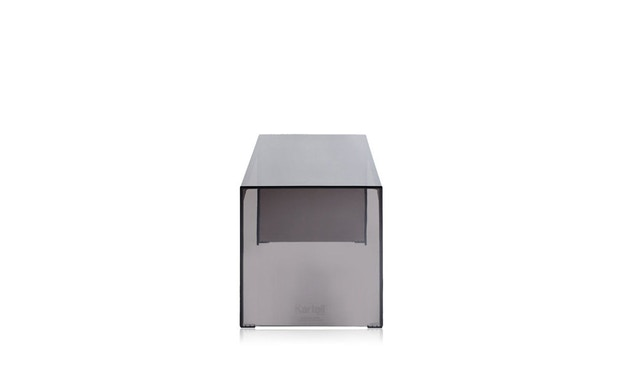 Kartell - Invisible Side - bijzettafel  - rookgrijs - Hoogte 40 cm - 3