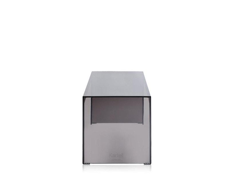 Kartell - Invisible Side - Beistelltisch - hoch - grau - 3