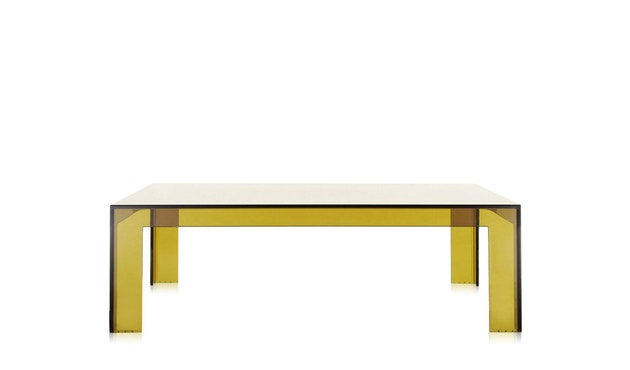 Kartell - Invisible Table - salontafel - groen - 1