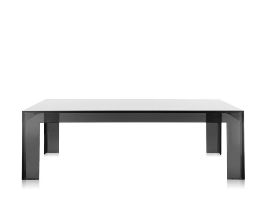 Kartell - Invisible Table - Couchtisch - grau - 2