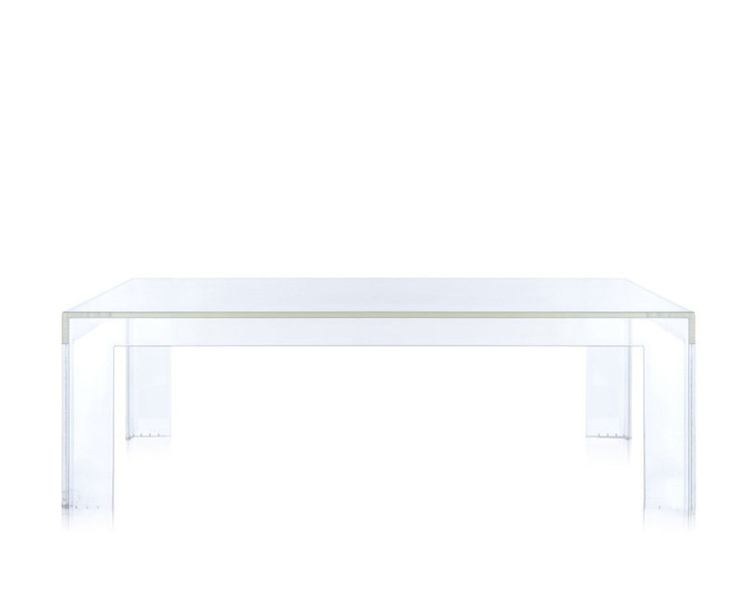Kartell - Invisible Table - Couchtisch - glasklar - 2