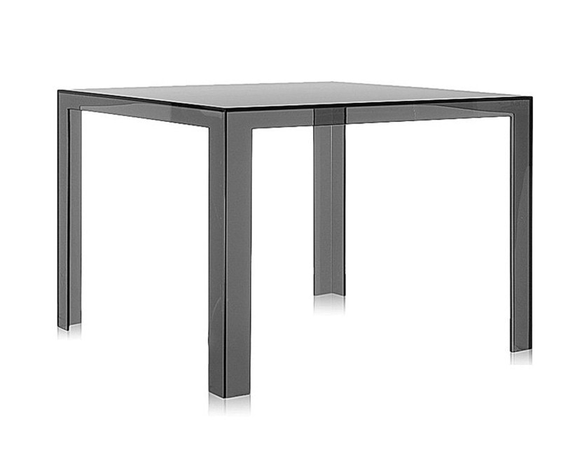 Kartell - Invisible Table - Esstisch - grau - 1