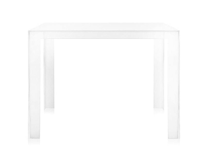 Kartell - Invisible Table - eettafel - glashelder - 2