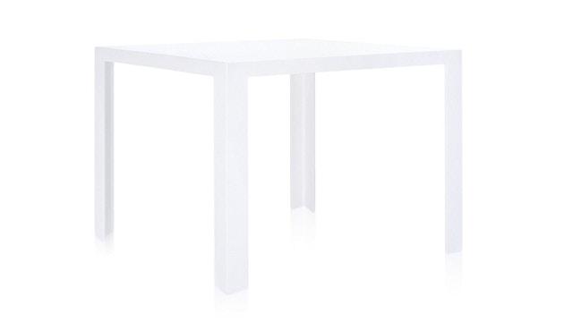 Kartell - Invisible Table - Esstisch - deckend weiß - 1