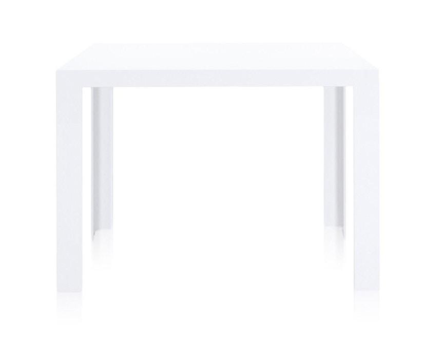 Kartell - Invisible Table - Esstisch - deckend weiß - 2