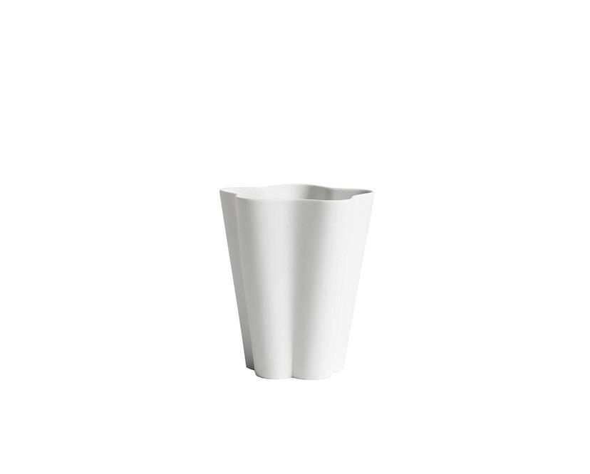 HAY - Iris Vase - S - grauweiß - 0