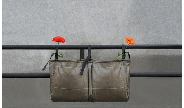 Bacsac - Blumenkasten 17L - zum Aufhängen - asphaltgrau - 5
