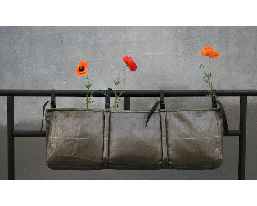 Bacsac - Blumenkasten 25L - zum Aufhängen - asphaltgrau - 6