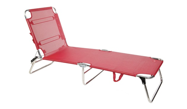 Jan Kurtz - Chaise longue Amigo - rouge - 1