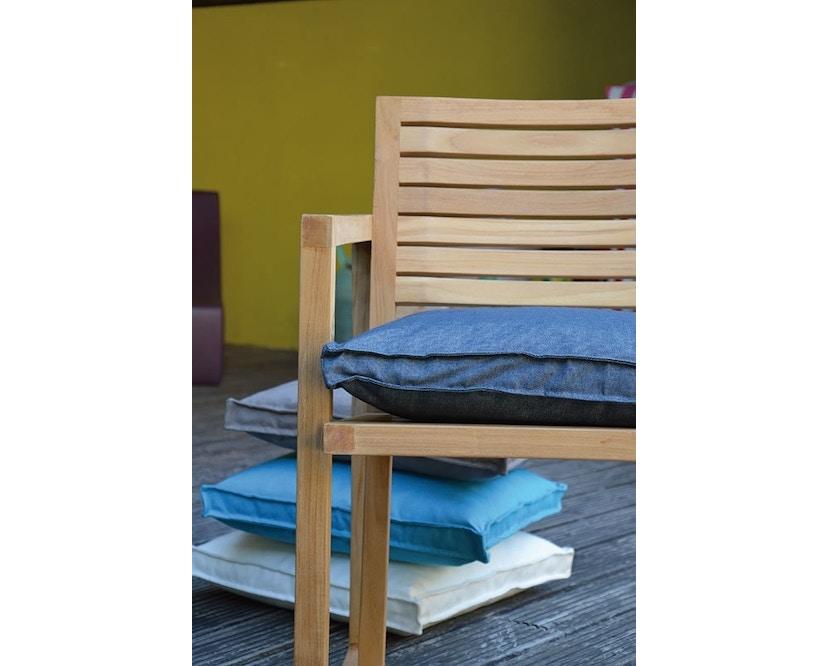 Jan Kurtz - Boxkissen Outdoor - 40 x 40 cm - weiß  - 2