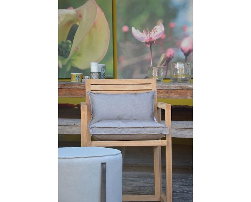 Jan Kurtz - Boxkissen Outdoor - 40 x 40 cm - weiß  - 3