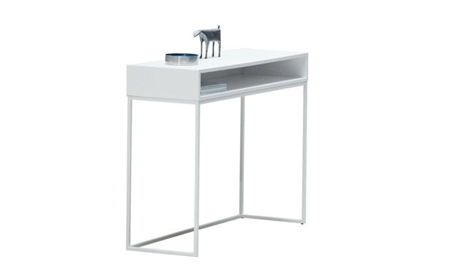 Jan Kurtz - Dina Console tafel - zilver - wit - 2
