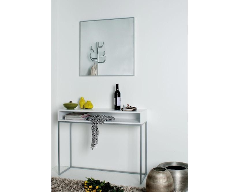 Jan Kurtz - Dina Console tafel - zilver - wit - 1