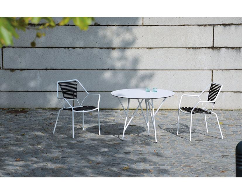 Jan Kurtz - Knit Knot stapelstoel - zwart - 4
