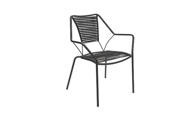 Jan Kurtz - Knit Knot stapelstoel - zwart - 1