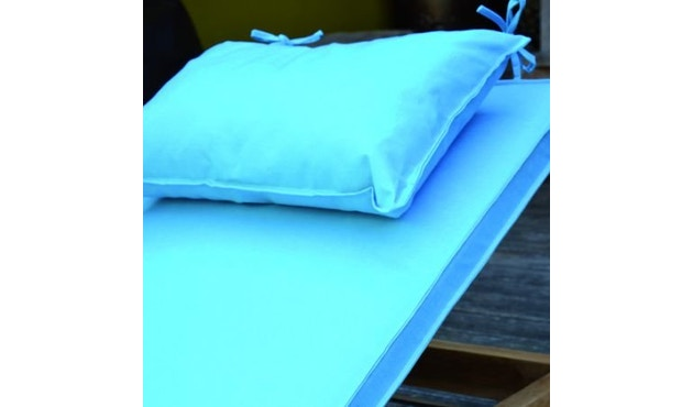 Jan Kurtz - Coussin Korfu avec oreiller - turquoise - 6