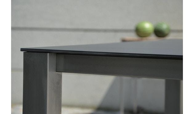 Jan Kurtz - Lux Base Tisch - 3 Tischplatten - schwarz - 3