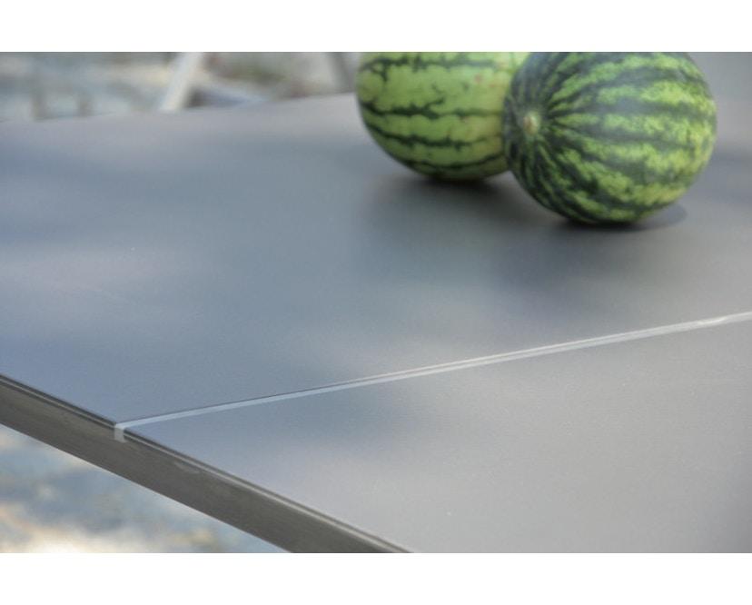 Jan Kurtz - Lux Base Tisch - 3 Tischplatten - schwarz - 4