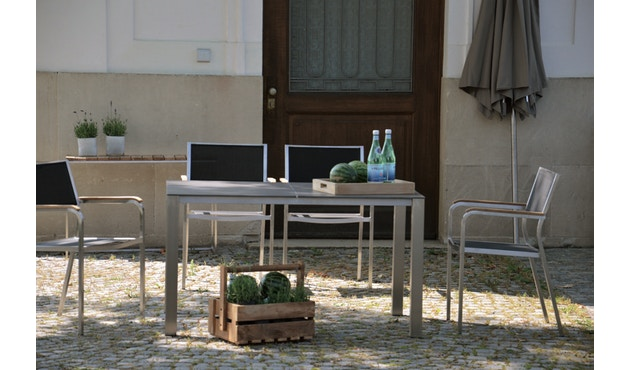 Jan Kurtz - Lux Base Tisch - 3 Tischplatten - schwarz - 5