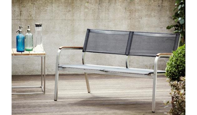 Jan Kurtz - Lux XL Lounge bank - zwart - 2-zitter - 3